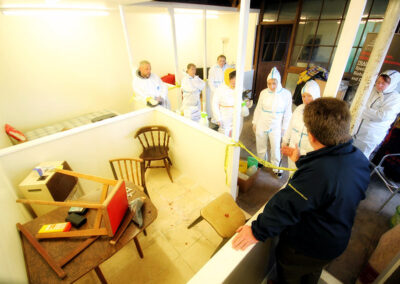 Biohazard Cleaning Training